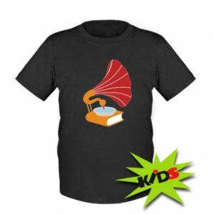 Dziecięcy T-shirt Peacock