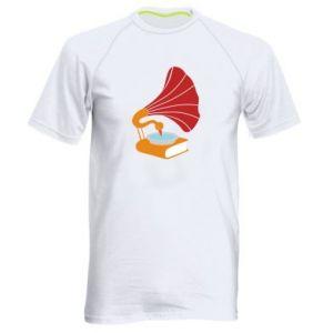 Męska koszulka sportowa Peacock