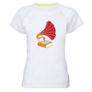 Damska koszulka sportowa Peacock