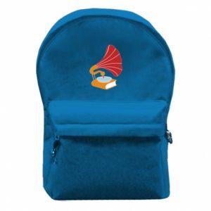Plecak z przednią kieszenią Peacock