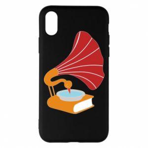 Etui na iPhone X/Xs Peacock