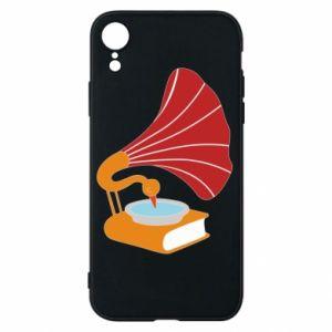 Etui na iPhone XR Peacock
