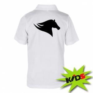 Dziecięca koszulka polo Wild Horse
