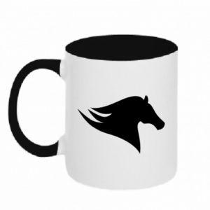 Kubek dwukolorowy Wild Horse