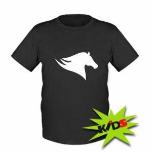 Kids T-shirt Wild Horse