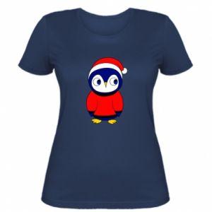 Koszulka damska Penguin in a hat