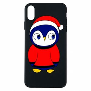 Phone case for iPhone Xs Max Penguin in a hat