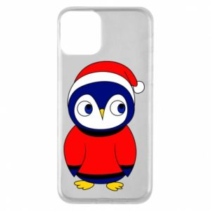 Phone case for iPhone 11 Penguin in a hat
