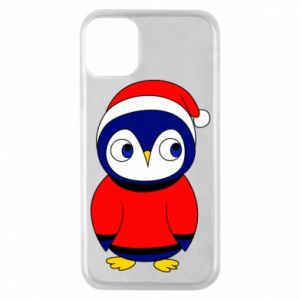 Phone case for iPhone 11 Pro Penguin in a hat