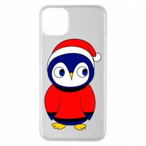 Phone case for iPhone 11 Pro Max Penguin in a hat