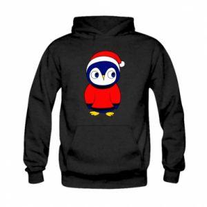 Bluza z kapturem dziecięca Penguin in a hat
