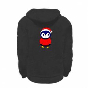 Bluza na zamek dziecięca Penguin in a hat