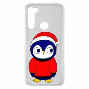 Etui na Xiaomi Redmi Note 8 Penguin in a hat