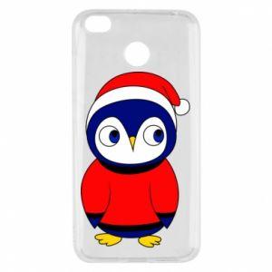 Etui na Xiaomi Redmi 4X Penguin in a hat