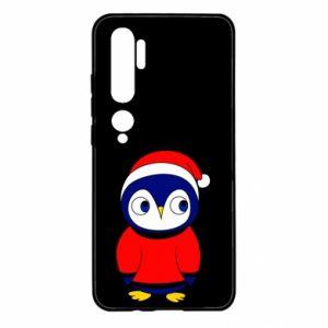 Xiaomi Mi Note 10 Case Penguin in a hat