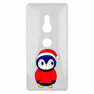 Etui na Sony Xperia XZ2 Penguin in a hat