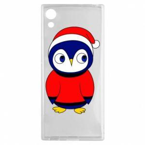 Etui na Sony Xperia XA1 Penguin in a hat
