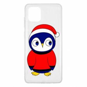 Etui na Samsung Note 10 Lite Penguin in a hat