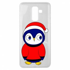 Etui na Samsung J8 2018 Penguin in a hat