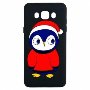 Etui na Samsung J7 2016 Penguin in a hat