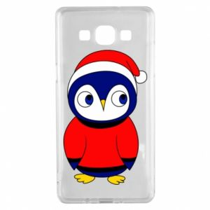 Etui na Samsung A5 2015 Penguin in a hat