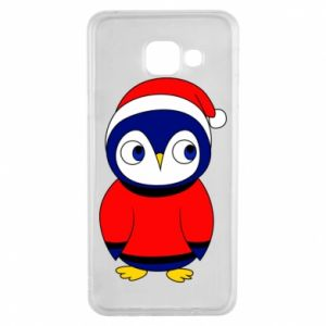 Etui na Samsung A3 2016 Penguin in a hat