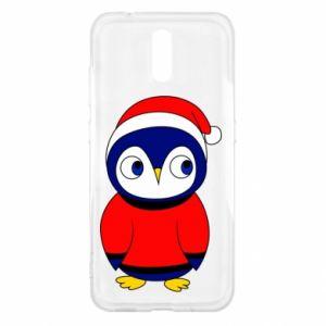Etui na Nokia 2.3 Penguin in a hat