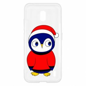 Etui na Nokia 2.2 Penguin in a hat