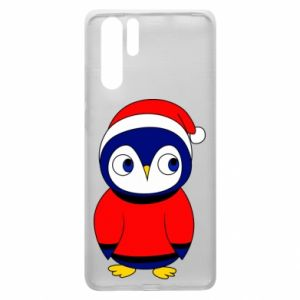 Etui na Huawei P30 Pro Penguin in a hat