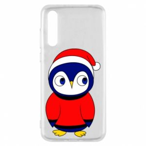 Etui na Huawei P20 Pro Penguin in a hat