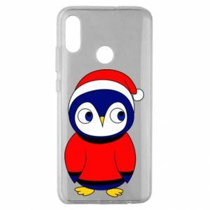 Etui na Huawei Honor 10 Lite Penguin in a hat