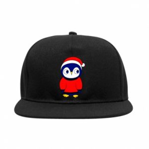 Snapback Penguin in a hat