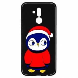 Etui na Huawei Mate 20 Lite Penguin in a hat