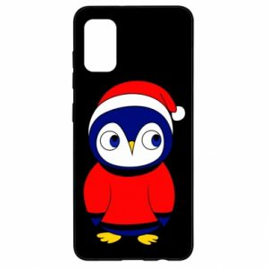 Etui na Samsung A41 Penguin in a hat
