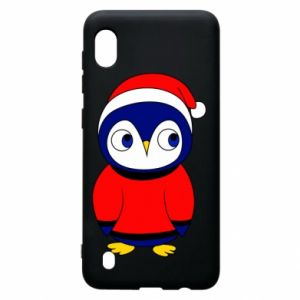 Etui na Samsung A10 Penguin in a hat
