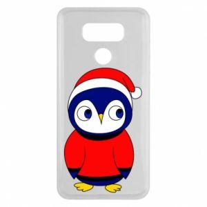 Etui na LG G6 Penguin in a hat