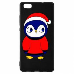 Etui na Huawei P 8 Lite Penguin in a hat