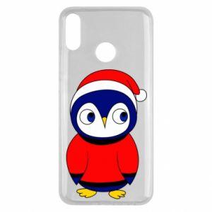 Etui na Huawei Y9 2019 Penguin in a hat