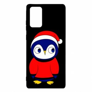 Etui na Samsung Note 20 Penguin in a hat