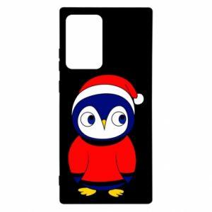 Etui na Samsung Note 20 Ultra Penguin in a hat