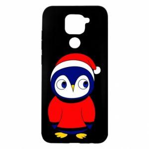 Etui na Xiaomi Redmi Note 9/Redmi 10X Penguin in a hat
