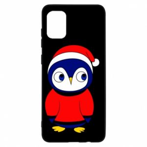 Etui na Samsung A31 Penguin in a hat