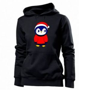 Women's hoodies Penguin in a hat