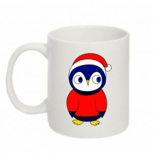 Mug 330ml Penguin in a hat