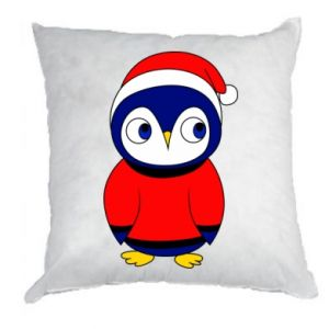 Pillow Penguin in a hat