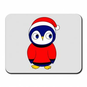 Mouse pad Penguin in a hat