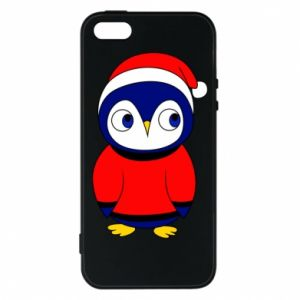 Phone case for iPhone 5/5S/SE Penguin in a hat
