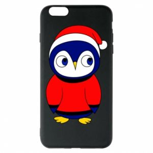Phone case for iPhone 6 Plus/6S Plus Penguin in a hat