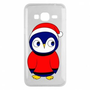 Phone case for Samsung J3 2016 Penguin in a hat