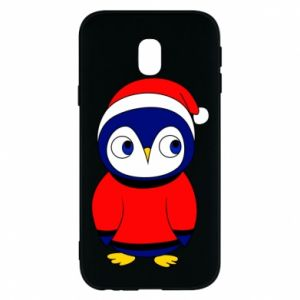 Phone case for Samsung J3 2017 Penguin in a hat